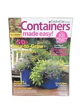 Garden Gate Magazine: Containers Made Easy Vol. 3 Gardening Special Issue 2010