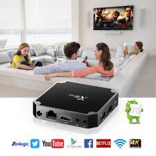 4K X96 mini WIFI Smart TV Box Android 7.1 1GB+ 8GB S905W Quad Core H.265 3D