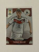 2014 Panini Prizm World Cup Thomas Muller First Prizm Card #93 Bayern Germany