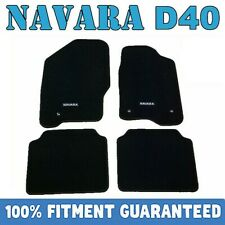 PREMIUM Prestige Carpet Floor Mats for Nissan Navara D40 Dual Cab 2005-2015