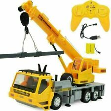 NEW 1/24 Remote Control Crane - 8 Channel Full Function RC Crane Truck Toy