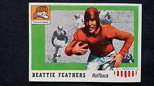 1955 Topps All American Football #98 Beattie Feathers Tennessee SP