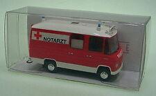 1:87 Brekina MB L 508 RTW / Feuerwehr - Notarzt