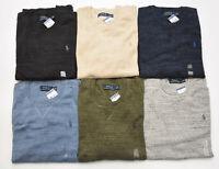 Men's Polo Ralph Lauren CREW NECK Sweater Size S M L XL XXL - STANDARD FIT