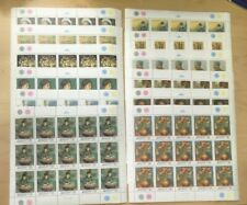SPECIAL LOT Bhutan 1991 1004-15 - Van Gogh Paintings - 15 Sets of 12v - MNH