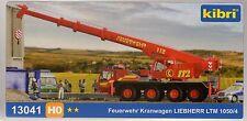 Kibri 13041 Feuerwehr Kranwagen Liebherr LTM 1050/4