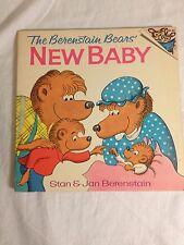 THE BERENSTAIN BEARS NEW BABY 1974