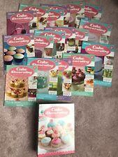1-17 Set DeAgostini Cake Decorating Magazines & Folder