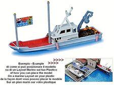 KATO by TOMIX REMORQUEUR TUG BATEAU bateau pêche FISHING PLASTIQUE 011 échelle-N