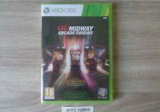 Midway Arcade Origins Xbox 360 & Xbox One Game - NEW & SEALED