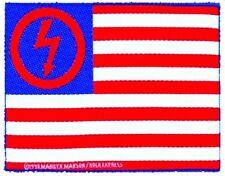 MARILYN MANSON - Patch Aufnäher - flag