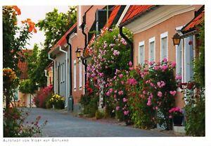 AK: Altstadt von Visby auf Gotland