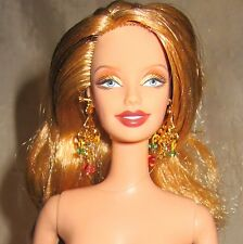 Nude I dream of spring Barbie smile sculpt long blonde hair for ooak or play