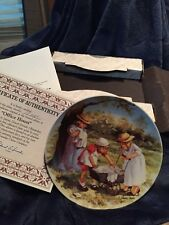 Jeanne Down's Friends I Remember Office Hours Collectors Plate Nib With Coa