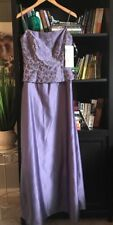 ALFRED ANGELO Dress Gown 9/10 Prom Wedding Bridesmaid Dress NEW #B2