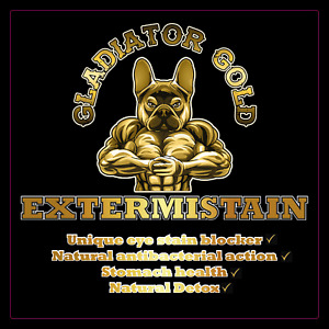 Gladiator Gold Extermistain dog puppy eye stains remover