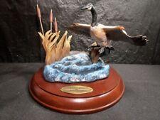 Danbury Mint - Wings Across The Waters - Gliding In - Detailed Mallard Statue