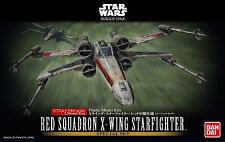 Red Squadron X-WING FIGHTER MODELLO KIT 1/72 di Bandai, Star Wars: Rogue One