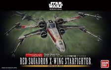 Red Squadron X-Wing Fighter Modellbausatz 1/72 von Bandai, Star Wars: Rogue One