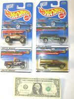 Attack Pack Series Complete Series Set Hot Wheels Die Cast Cars - Lot of 4