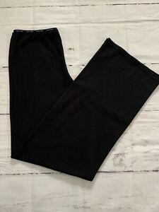 Calvin Klein Women's L Black Pajama Lounge Pants CK Cotton Stretch