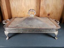 Vintage Silver Plated Chaffing Dish - Serving Dish - Free Shipping Within USA ✓