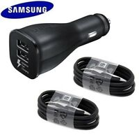 Original Fast Car Charger Adaptive Cable Samsung Galaxy S10+ S8 S9 Plus Note 9 8