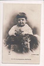 Vintage Postcard Princess Mafalda of Savoy, Landgravine of Hesse
