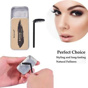 Eyebrow Styling Soap Shaping Gel Wax with Brush Long Lasting Eye Brow Makeup 20g