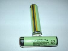 3x ncr18650b agli ioni di litio con protezione PCB elettronica (Panasonic) l69, 5 x d19mm