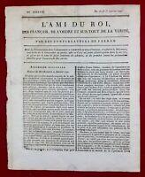 Journal Royaliste 1791 Révolution Française Saint Sulpice L'ami du Roi Paris