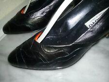 Damenpumps von stilNovo- Made in Italy - Gr.36,5 - neu-Leder-schwarz
