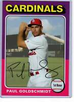 Paul Goldschmidt 2019 Topps Archives 5x7 #104 /49 Cardinals