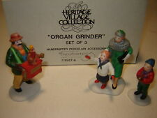 Dept 56 Cic Accessory - Organ Grinder - 3 Pc Set