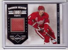 NICKLAS LIDSTROM 11/12 Panini Limited #d /99 Banner Season 80 Points Jersey #15