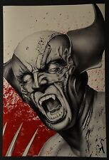 Wolverine Art Print Signed by Don Monroe