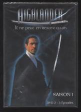 NEUF DVD HIGHLANDER 3 ÉPISODES DE LA SAISON 1 SÉRIE TV SOUS BLISTER ACTION SF