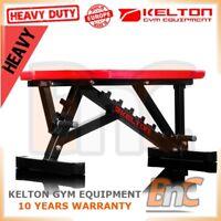 # KELTON HD HL10 ADJUSTABLE BENCH WEIGHT LIFTING INCLINE DECLINE HEAVY DUTY GYM