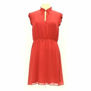 H&M Women's Dress size 12,  orange,  polyester,  new with tags