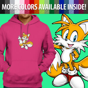 Unisex Pullover Sweatshirt Hoodie Sweater Gift Print Cute Coyote Fox Wolf Tail