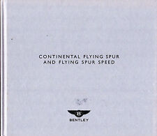Bentley Continental Flying Spur & Speed 2009-10 UK Market Hardback Brochure
