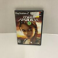 PS2 Lara Croft: Tomb Raider Legend (PlayStation 2 PS2) COMPLETE Free Shipping