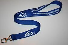 RSG Rollstuhl Sportgemeinsschaft Hannover 94 e.V. Schlüsselband / Lanyard NEU!!