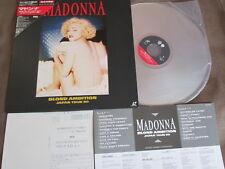 MADONNA Blond Ambition Japan Tour 90 Laser Disc WPLP-9044 TRIANGLE OBI+POSTCARD
