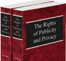 The Rights of Publicity & Privacy, 2d, 2016 2 Volume Paperback Thomson Reuters