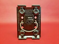 Wadsworth MAIN LIGHTS FUSE PULL OUT FUSE HOLDER 60 AMP