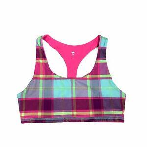 Ivivva Lululemon Reversible Sports Bra Girls Youth Size 12 No Padding Racerback
