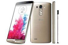 """Or Débloqué Téléphone 5.5"""" LG G3 D850 4G LTE 32GB GPS NFC 3GB RAM"""