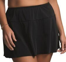 Elomi ISIS Flared Skirted Swim Brief  Swim Skirt 7601 UK Size 16 Black      (17)