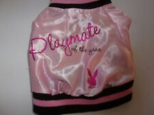 PLAYBOY Playmate of the Year pink Jacket Dog S New Pet small